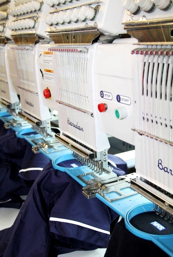 Embroidered workwear service