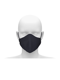 Picture of Community face mask with cord tie. Guaranteed for 50 washes.
