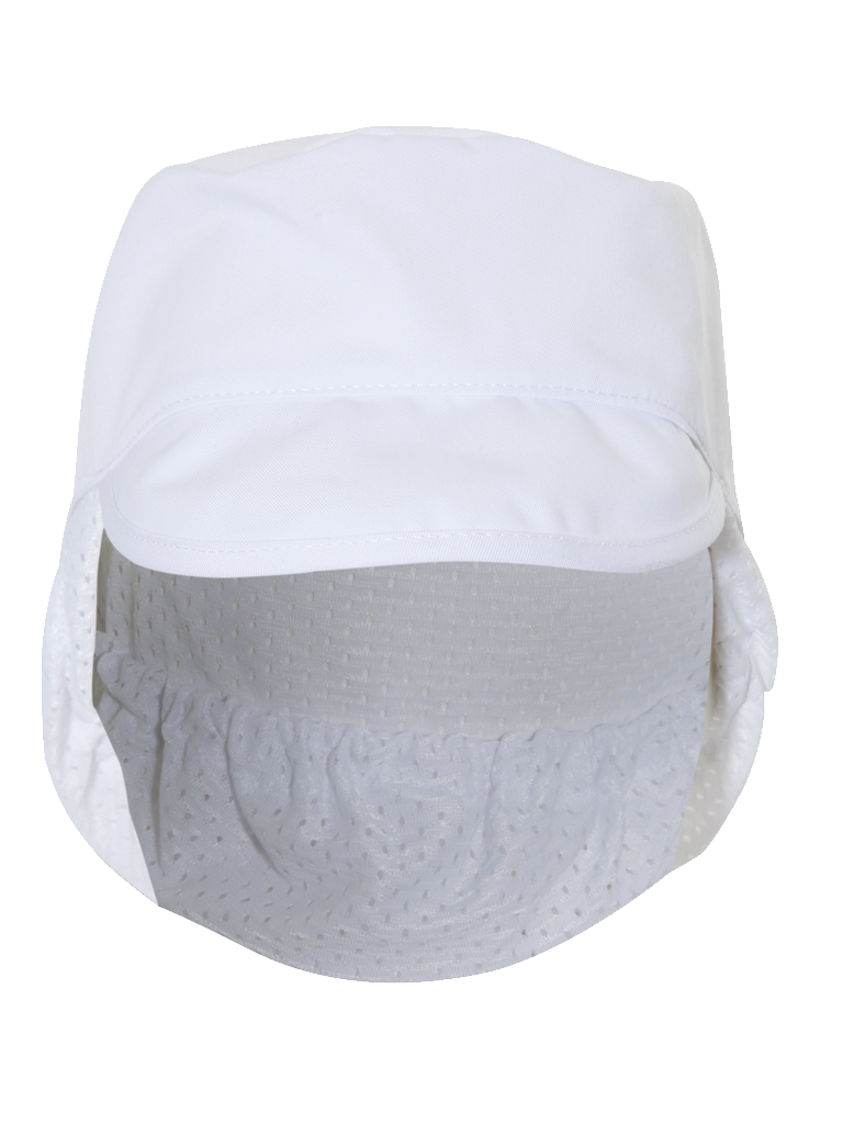 Picture of Cap with net - White