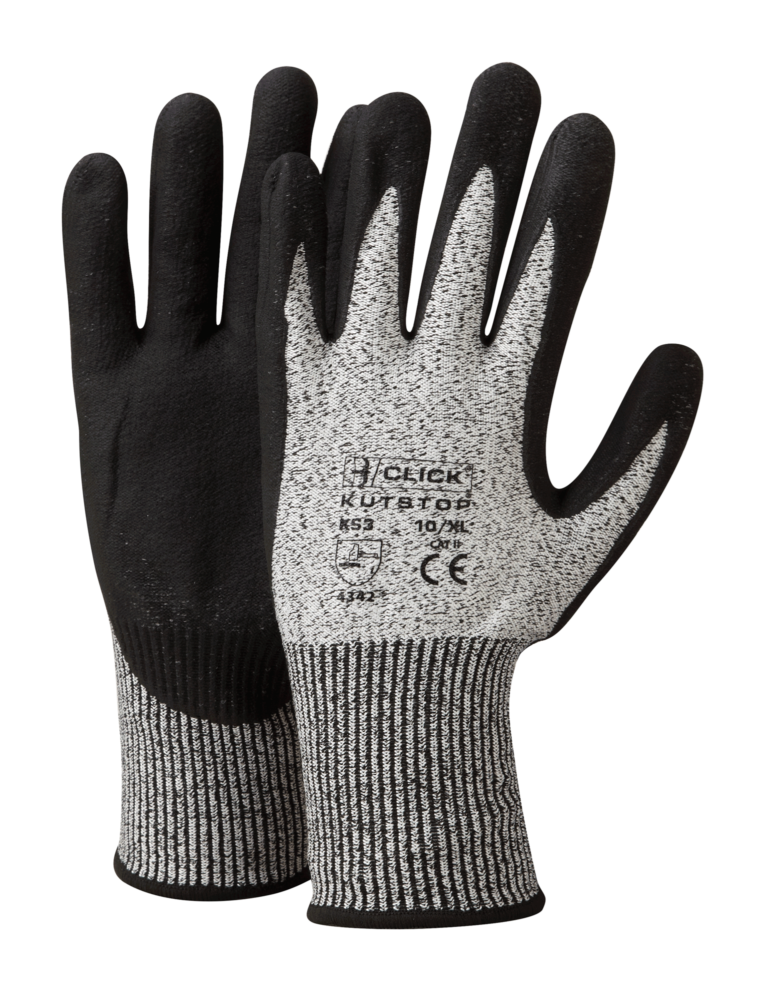 Picture of Foam Nitrile Cut 5 Gloves - Grey