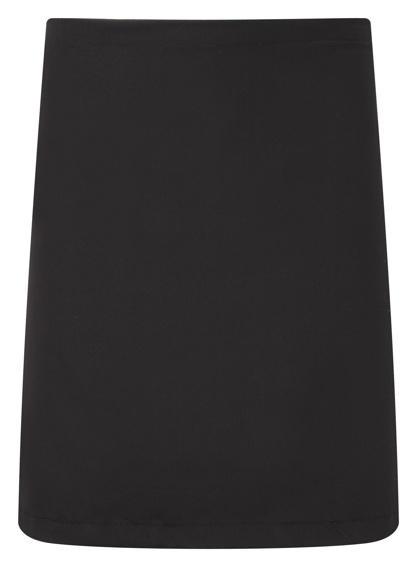 Picture of Chefs short waist apron - Black