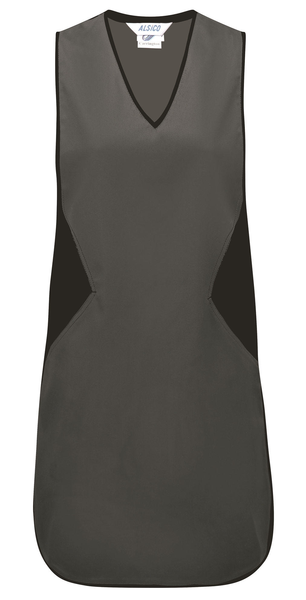 Picture of Contrast Tabard - Grey / Black
