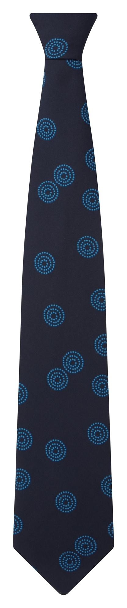 Picture of Print Tie - Navy/Blue Sienna Print