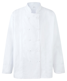 Picture of Unisex Chefs Jacket L/S for Stud Fastening