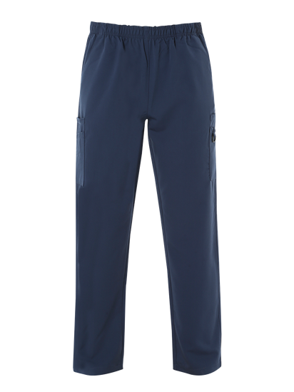 Picture of Male 4-Way Stretch Scrub Trouser - Navy