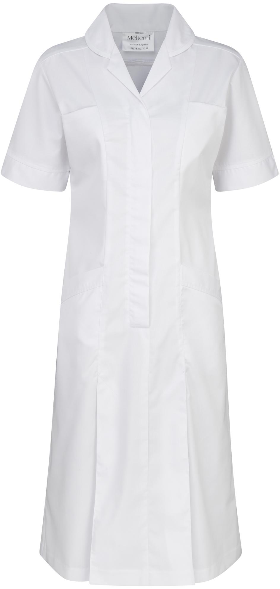 Picture of Plain Colour Dress - White