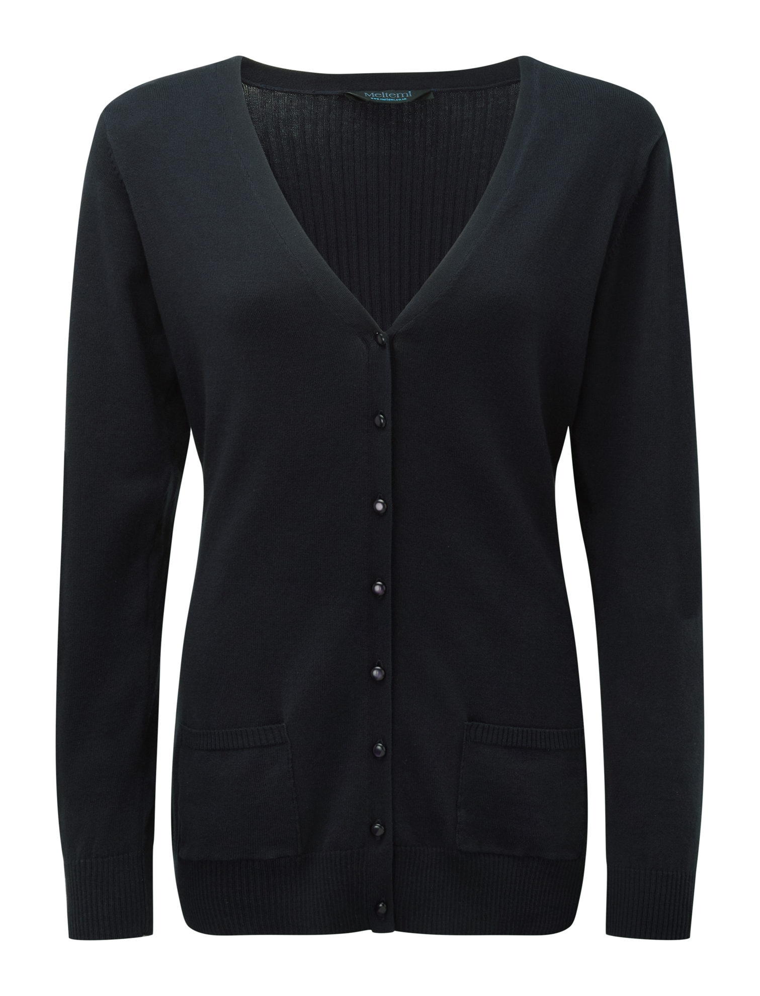 Picture of Fitted Cardigan - Navy