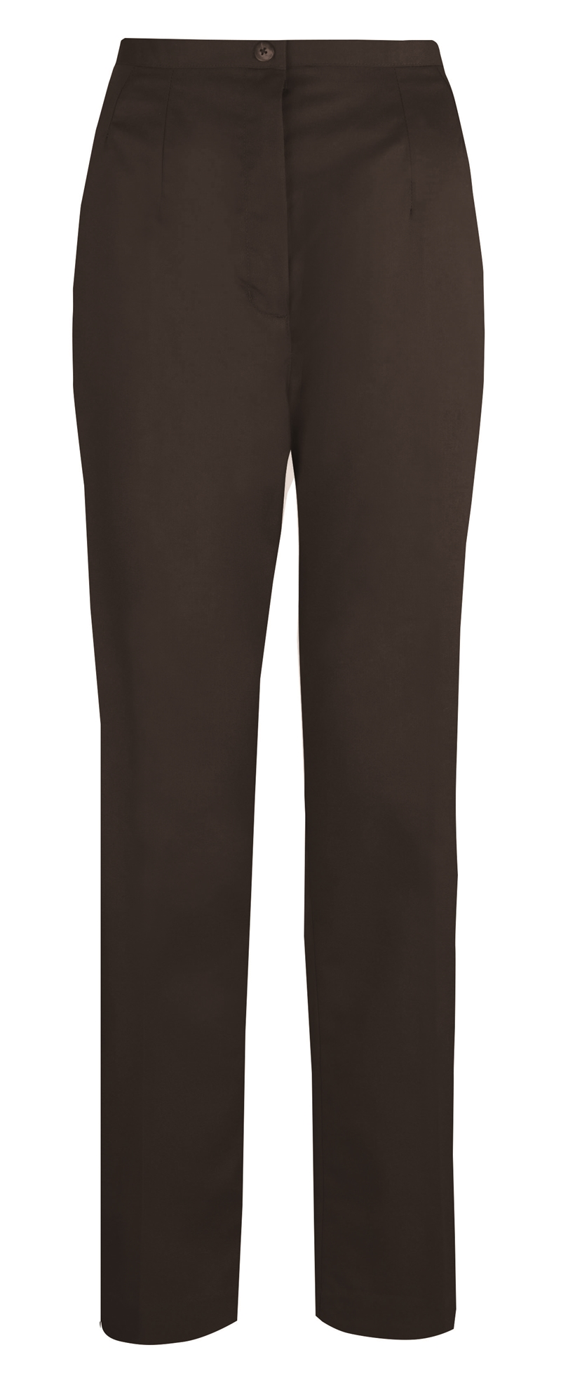 Picture of Flexi-Stretch Straight Leg Trousers - Black