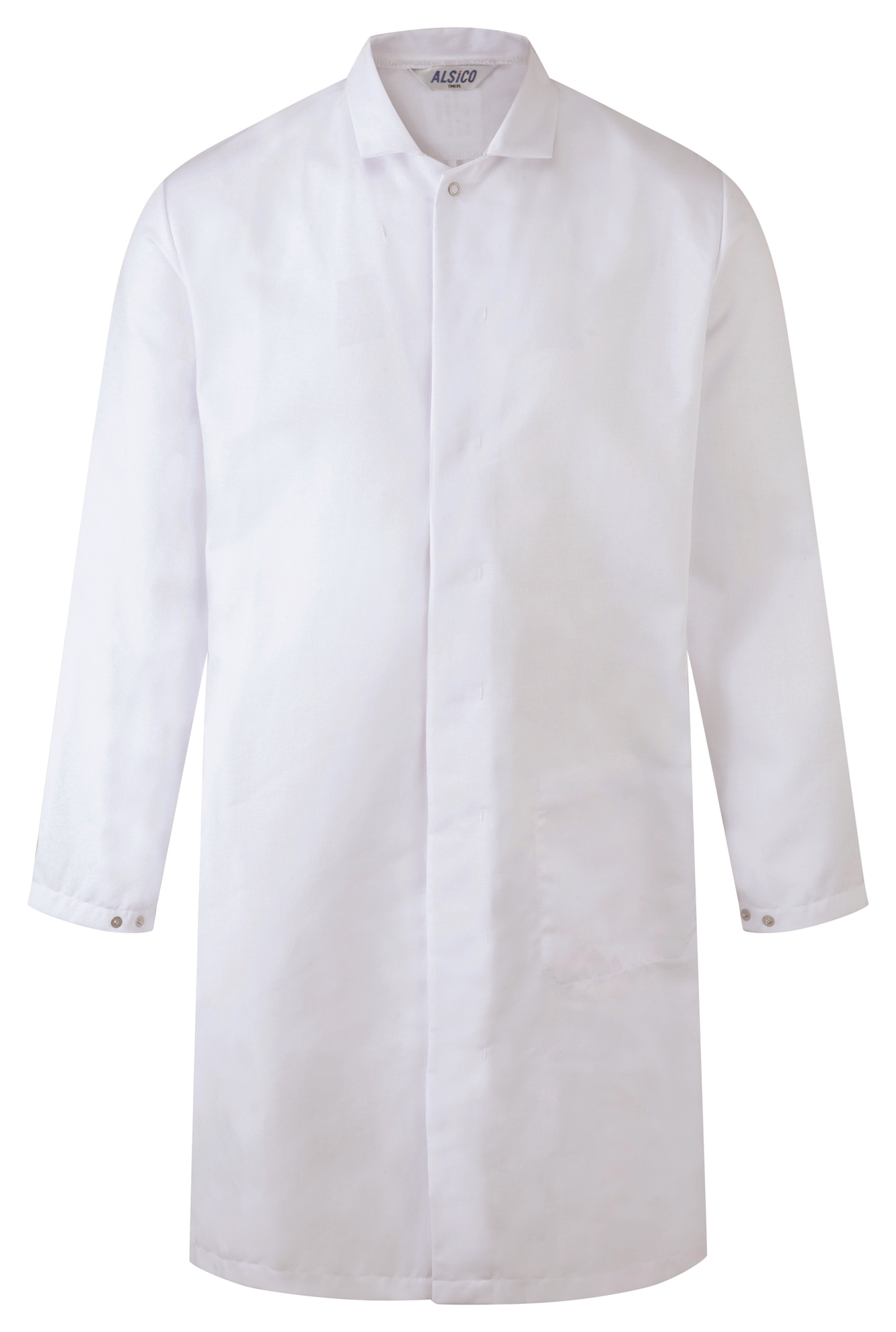 Picture of L/S Food Trade Coat with Inside Lower Pocket - White