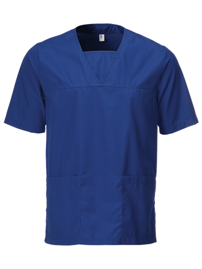 Picture of Unisex Scrub Tunic - Royal Blue