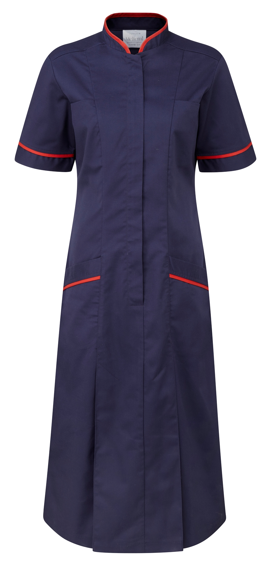 Picture of Professional Dress - Navy/Red
