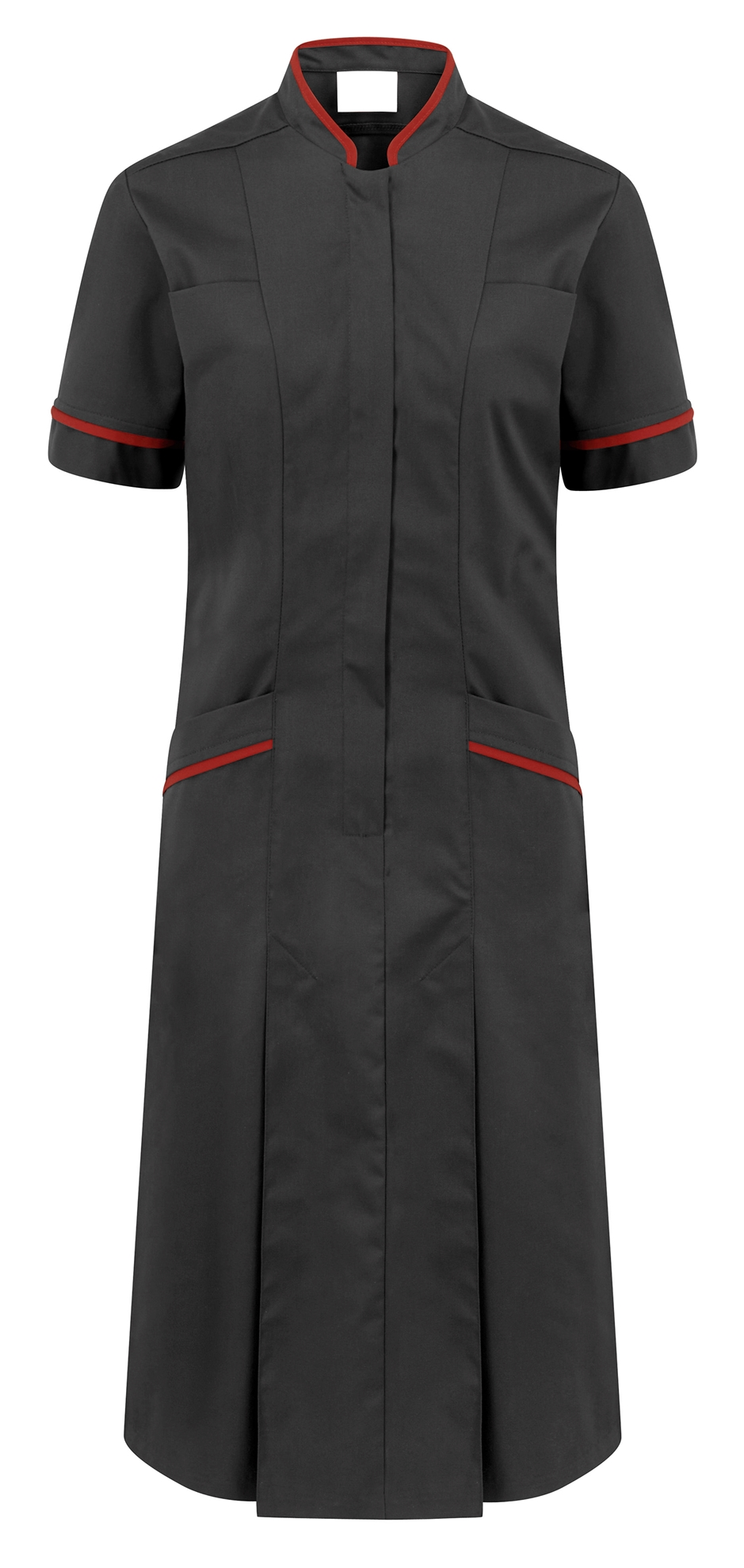 Picture of Professional Dress - Charcoal/Red