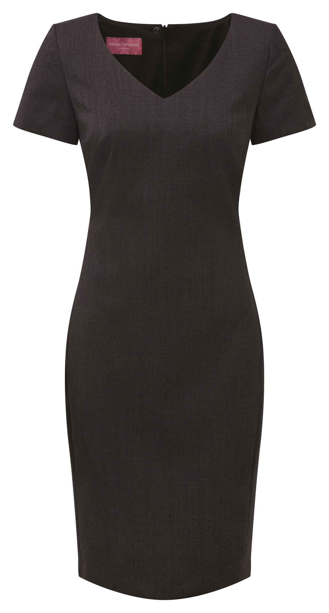 Picture of V Neck Corinthia Shift Dress - Navy