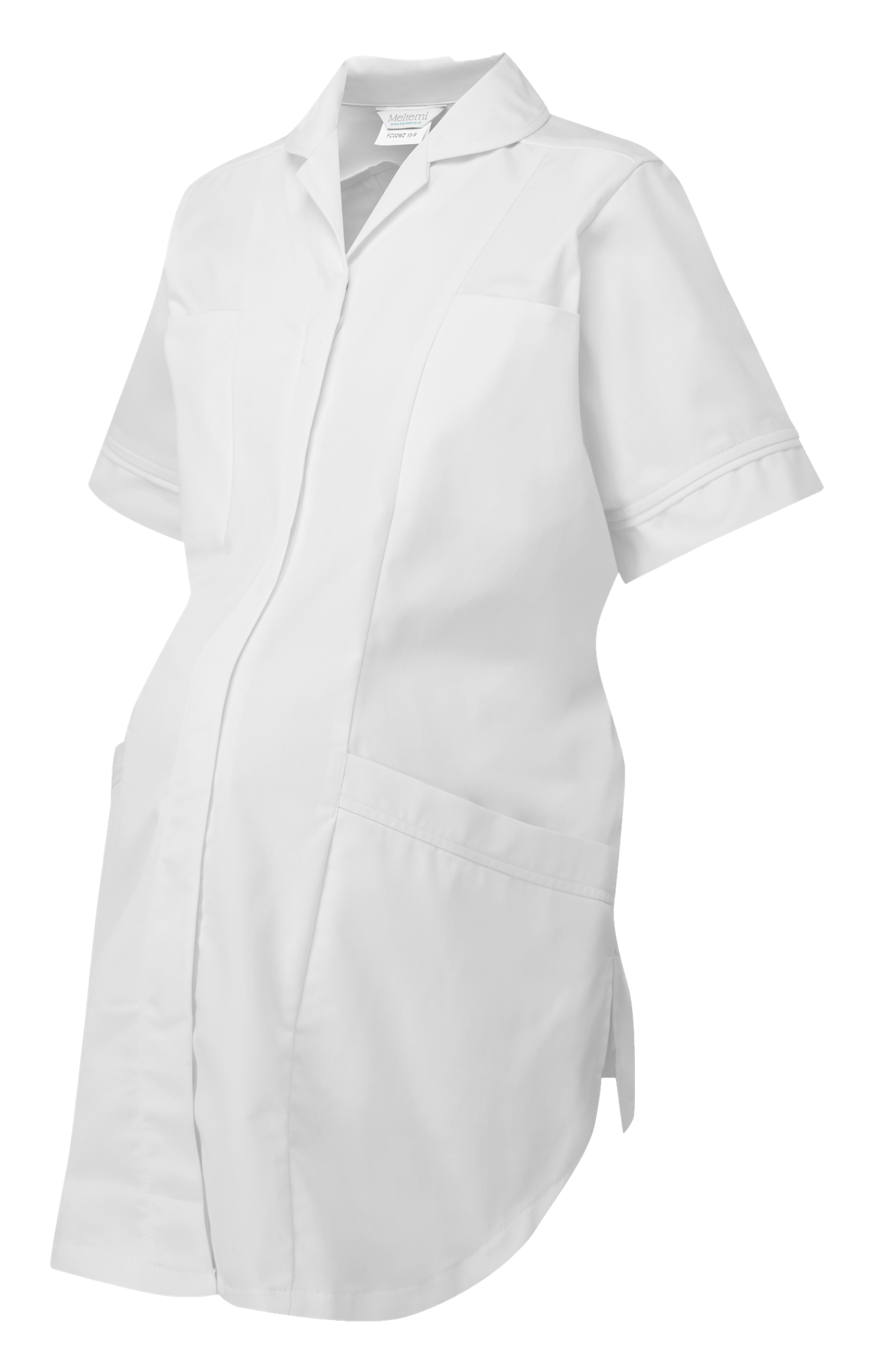 Picture of Plain Maternity Tunic - White