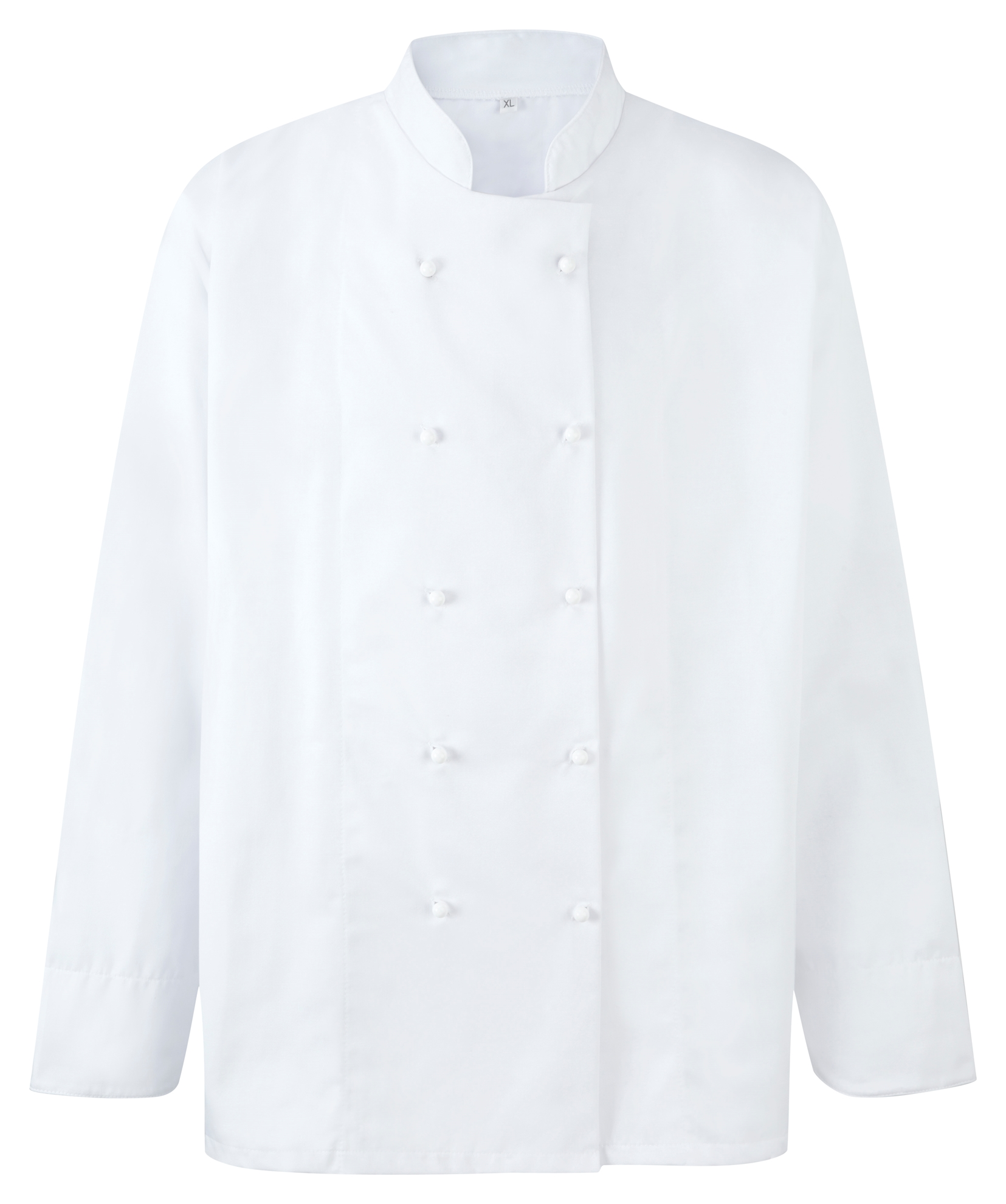 Picture of Unisex Chefs Jacket L/S for Stud Fastening - White