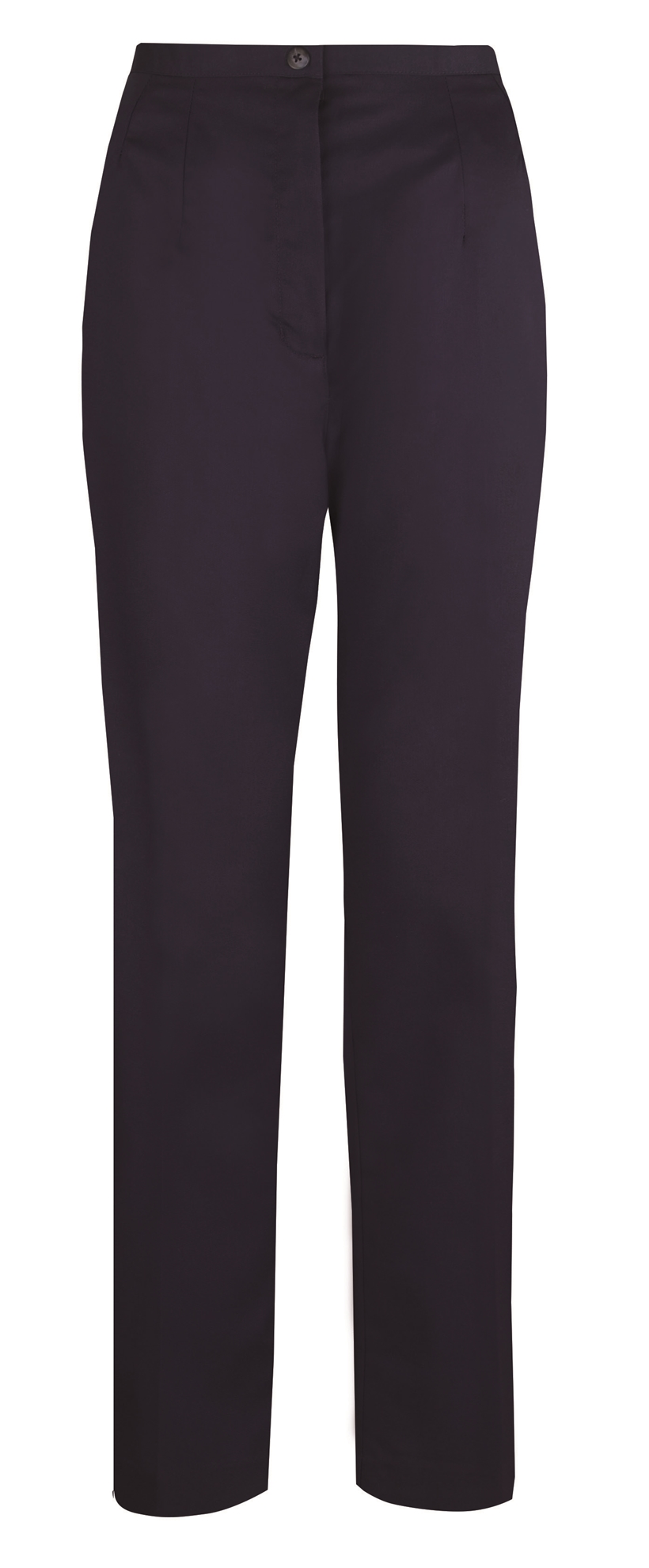 Picture of Flexi-Stretch Straight Leg Trousers - Navy