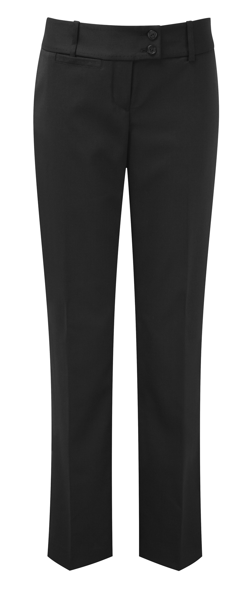 Picture of Dorchester Parallel Leg Trousers - Black
