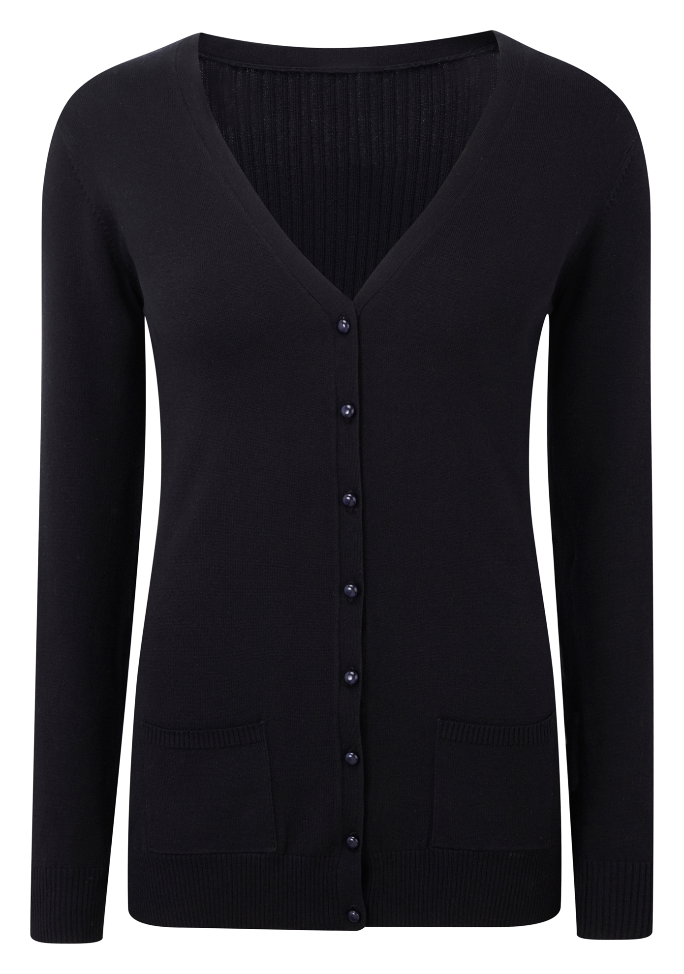 Picture of Fitted Cardigan - Black