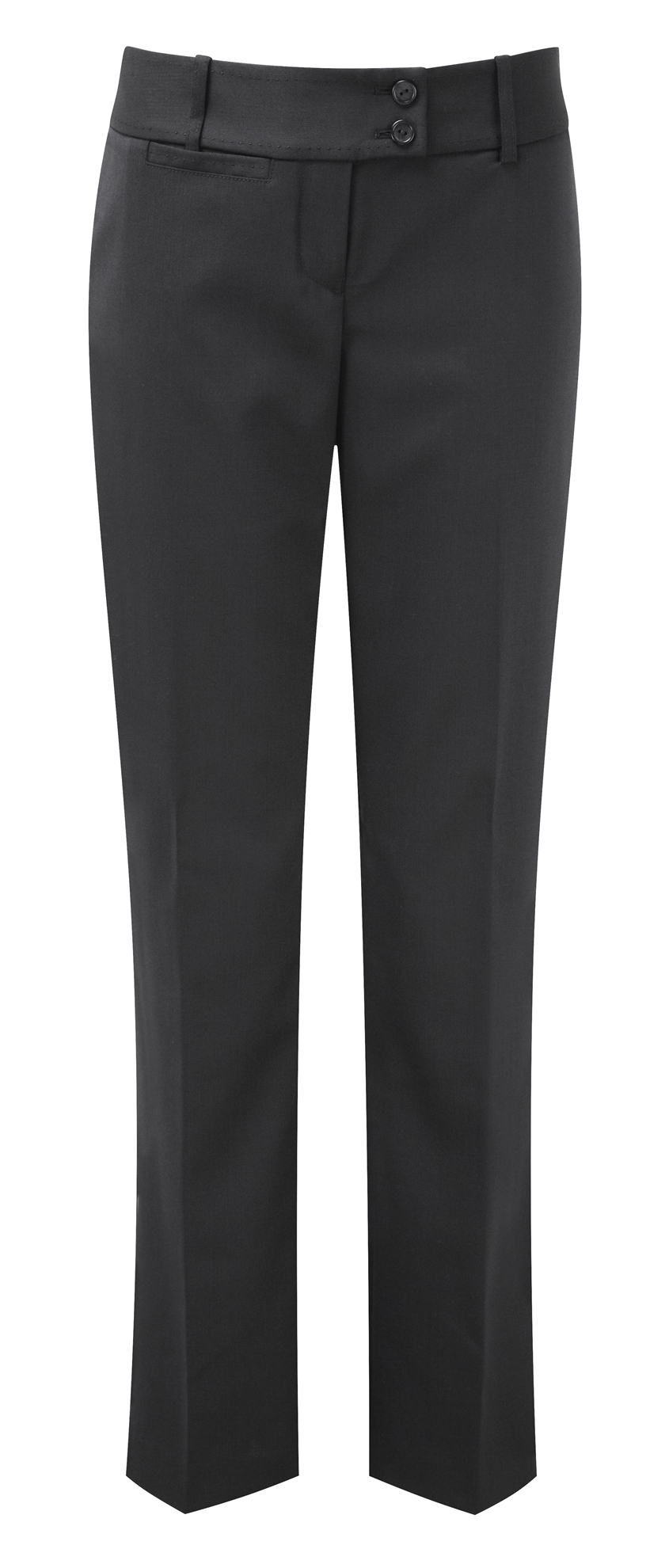 Picture of Dorchester Parallel Leg Trousers - Mid Grey