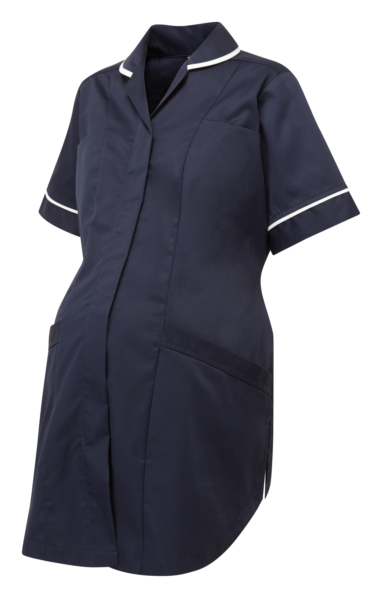 Picture of Plain Maternity Tunic - Navy