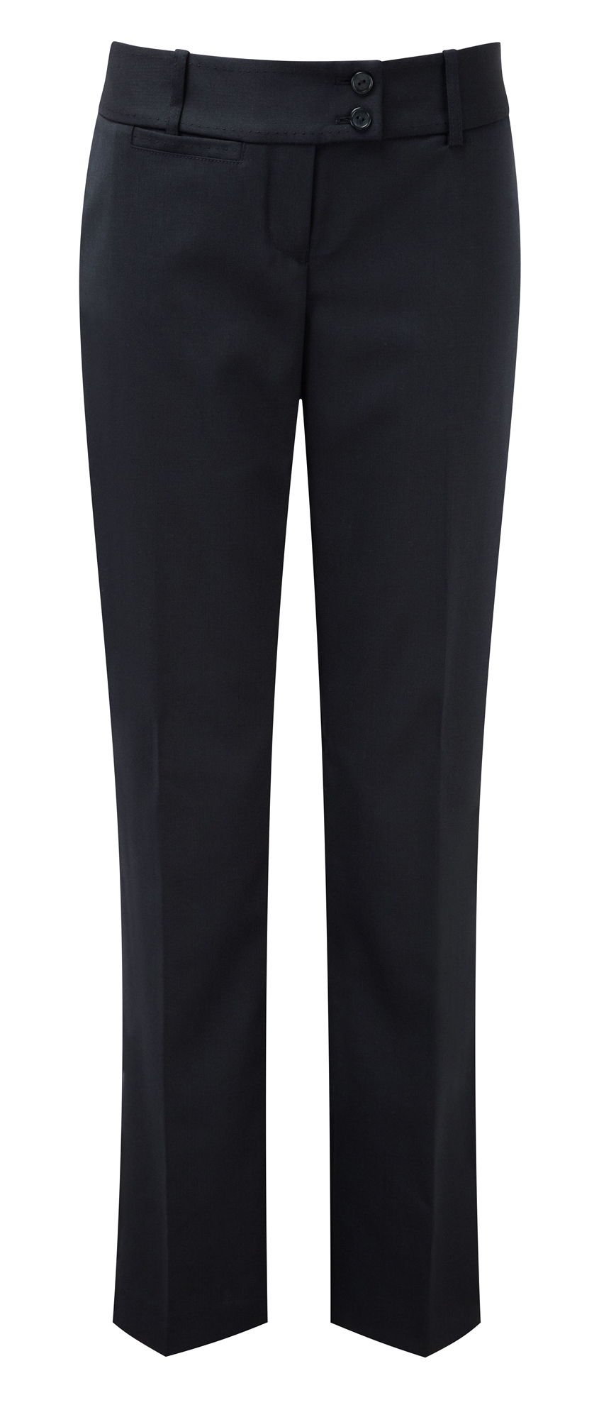 Picture of Dorchester Parallel Leg Trousers - Navy