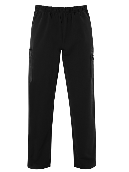 Picture of Male 4-Way Stretch Scrub Trouser - Black