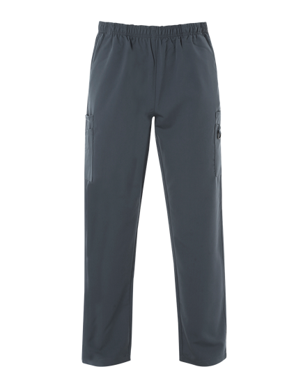 Picture of Male 4-Way Stretch Scrub Trouser - Slate Grey