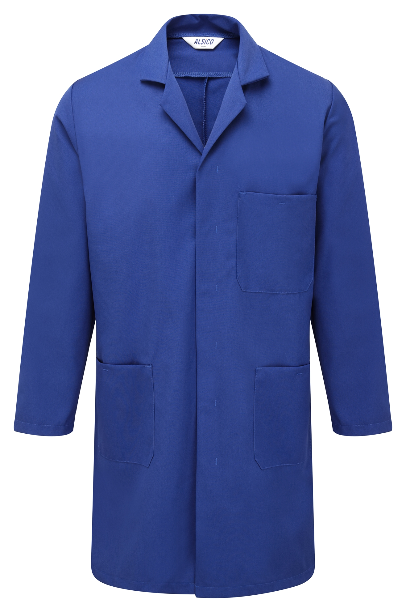 Picture of Polycotton Coat -  Royal Blue