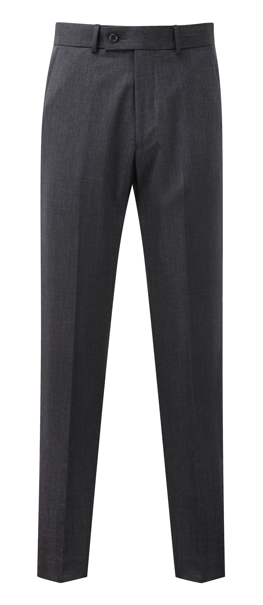 Picture of Aldwych Tailored Fit Trousers - Mid Grey