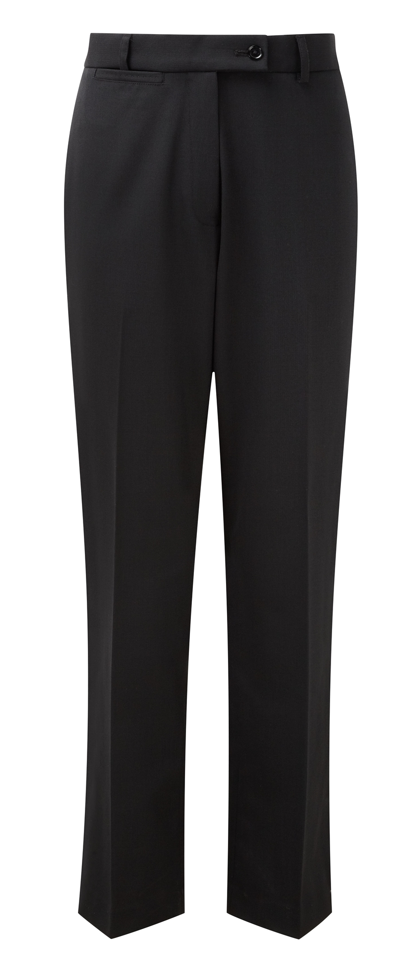 Picture of Grosvenor Straight Leg Trousers - Black