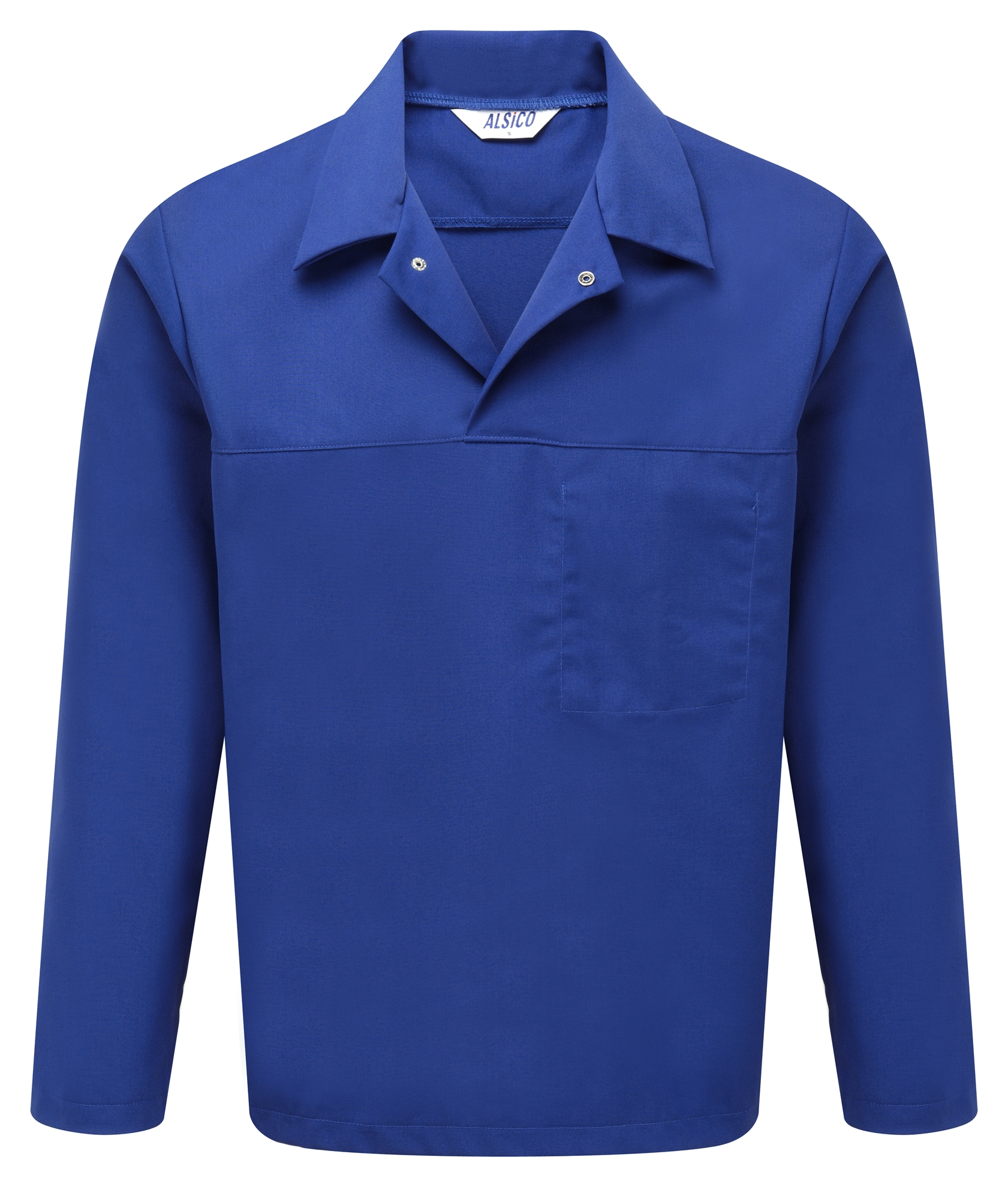 Picture of Long Sleeve Food Trade Top - Royal Blue