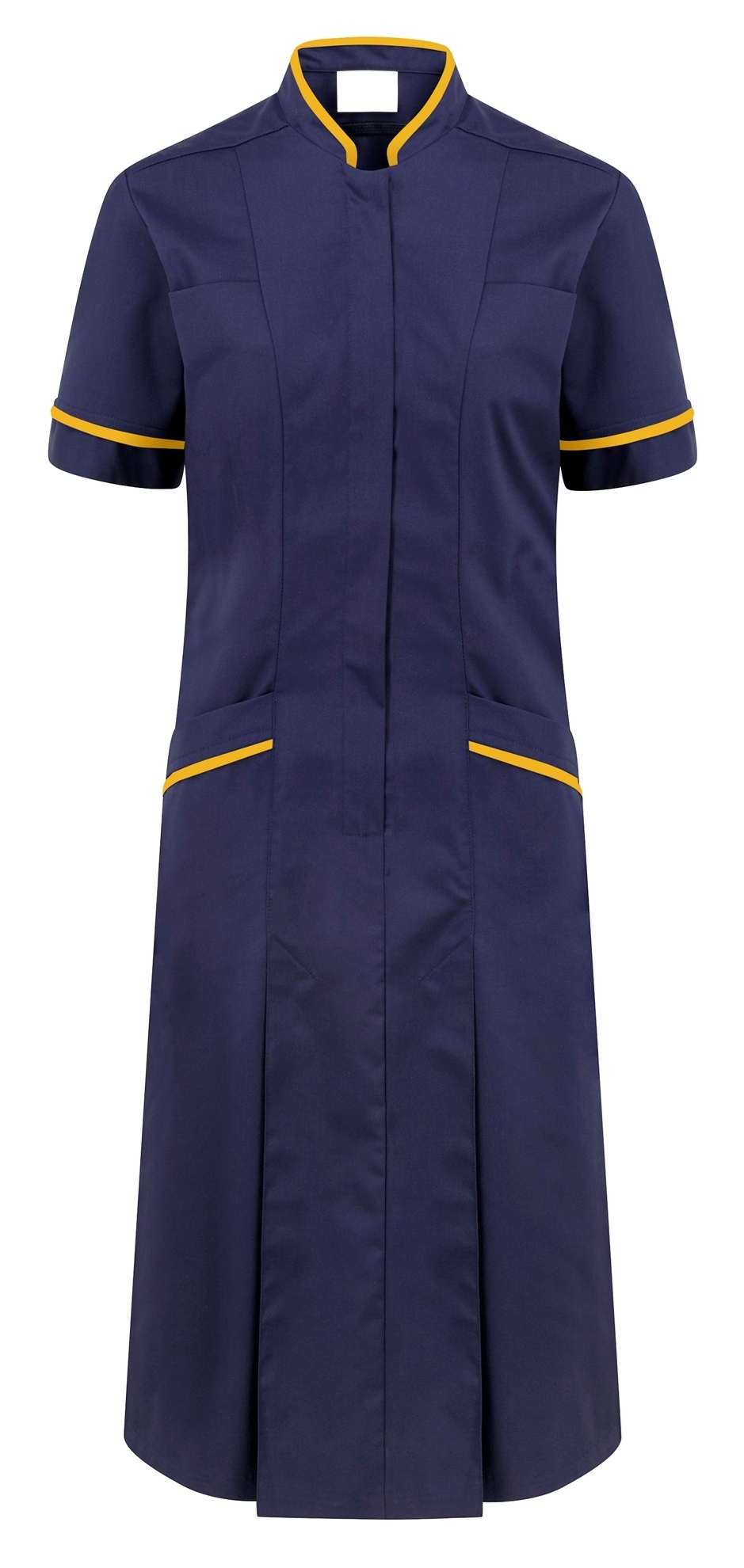 Picture of Professional Dress - Navy/Yellow