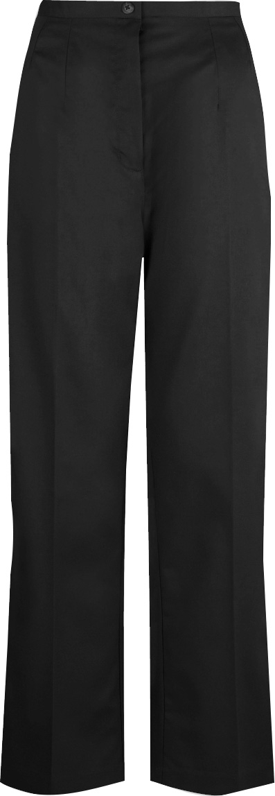 Picture of Flexi-Stretch Bootcut Trousers - Black