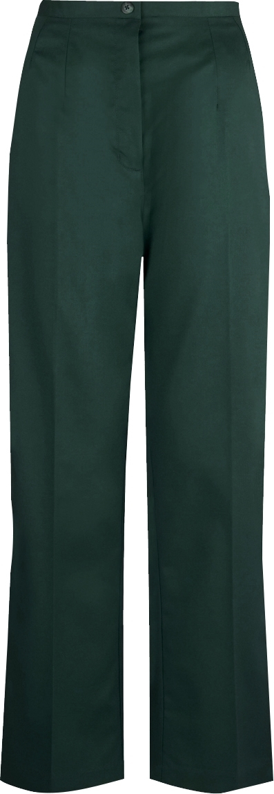 Picture of Flexi-Stretch Bootcut Trousers - Bottle Green