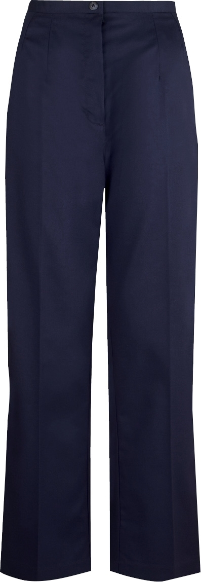 Picture of Flexi-Stretch Bootcut Trousers - Navy