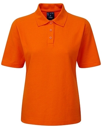Picture of Female Polo Shirt - Orange
