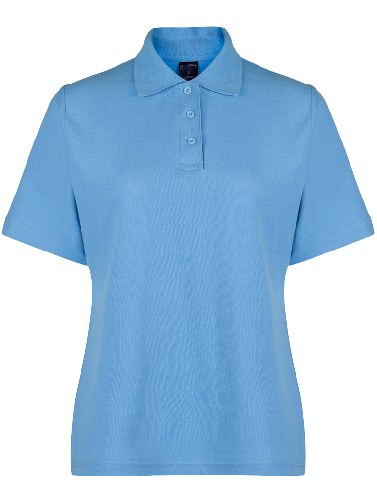 Picture of Female Polo Shirt - Sky Blue