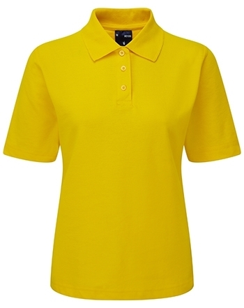 Picture of Female Polo Shirt - Yellow