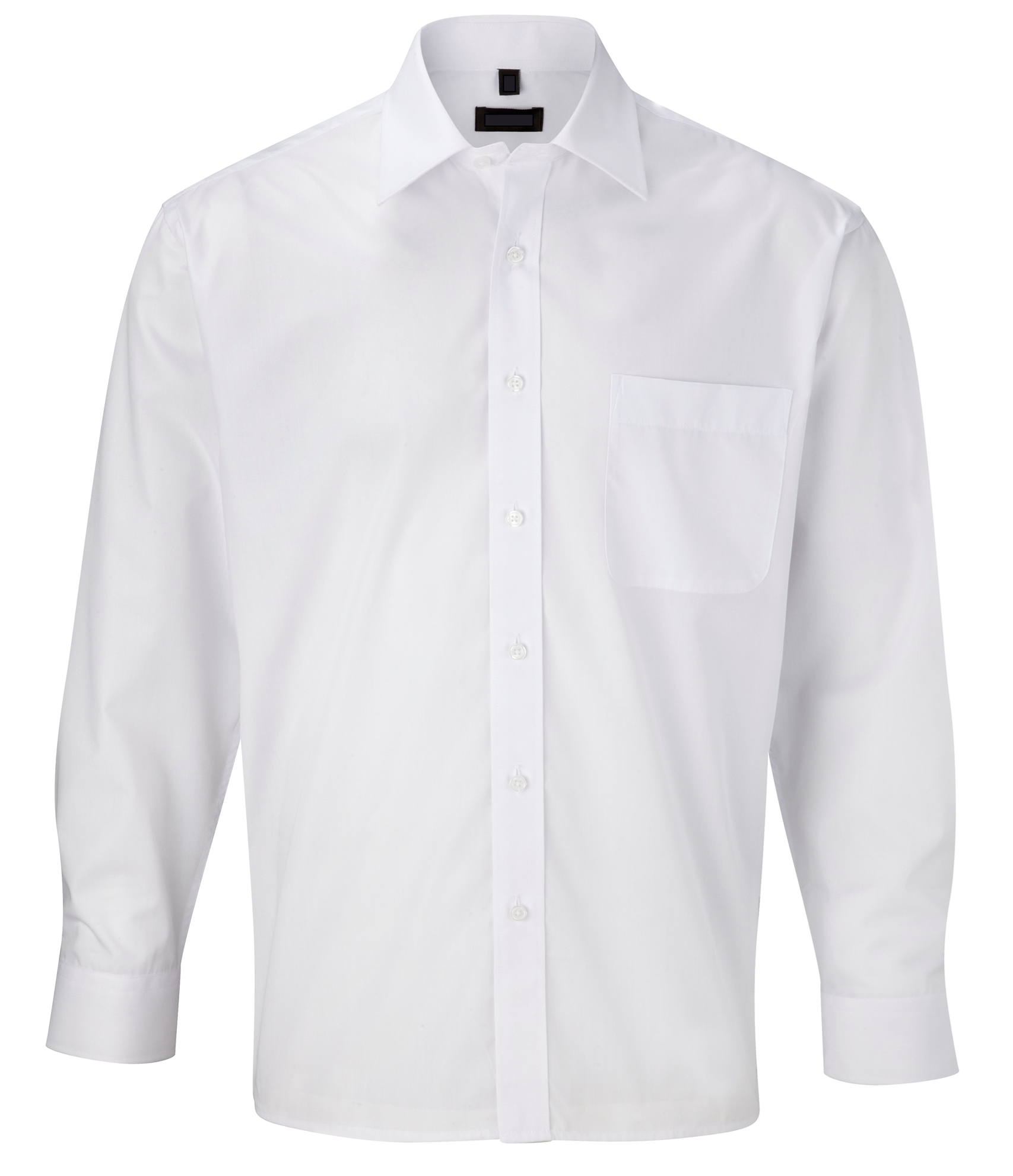 Picture of Male Long Sleeve Shirt - Plain White