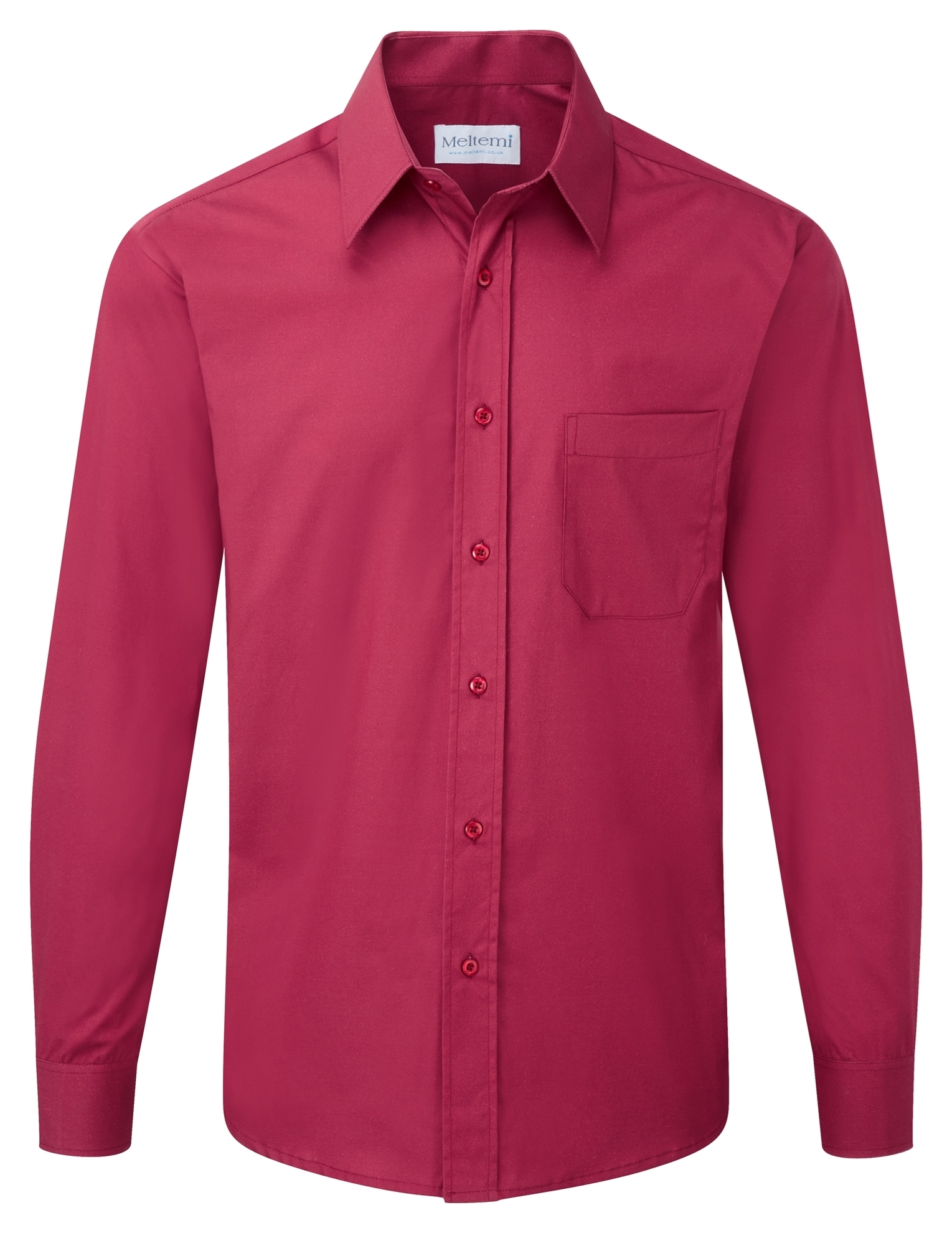 Picture of Male Long Sleeve Shirt - Berry