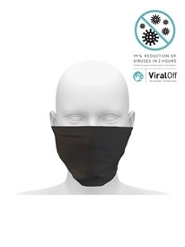 Picture of Community Snood - with anti-viral coating. Guaranteed for 50 washes - Black