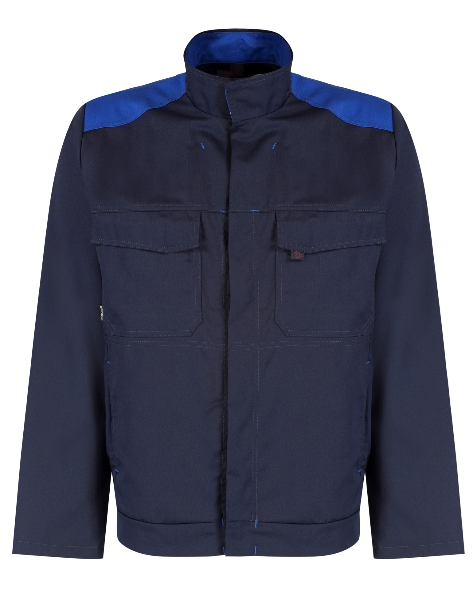 Picture of Gryzko Bi Colour Jacket - Navy/Royal Blue