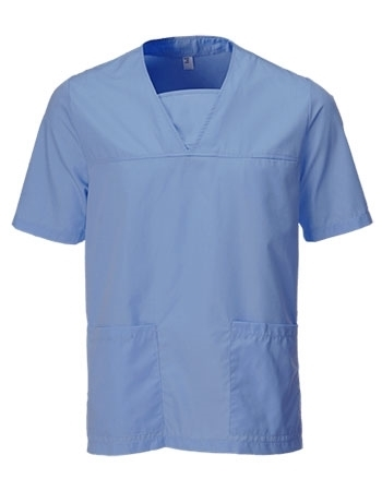 Picture of Unisex Scrub Tunic - Metro Blue