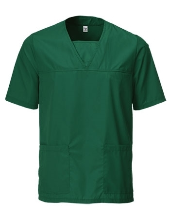 Picture of Unisex Scrub Tunic - Bottle Green