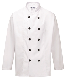 Picture of Unisex L/S Chefs Jacket with Button Fastening