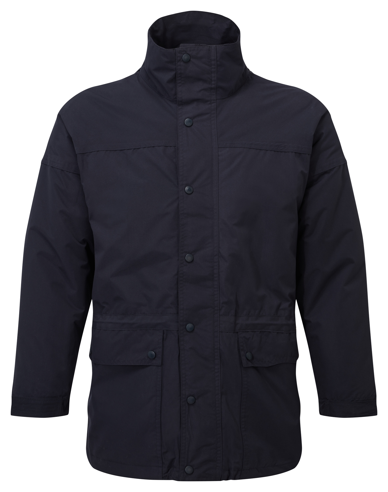 Picture of Waterproof Unisex Padded Jacket - Navy