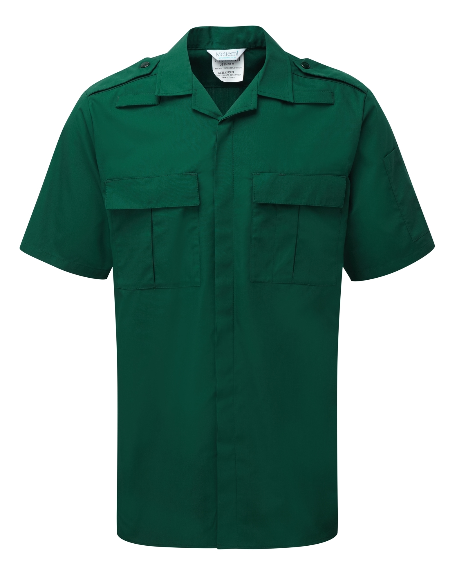 Picture of Unisex Service Shirt - Bottle Green
