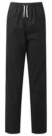 Picture of Unisex Smart Scrub Trousers - Black