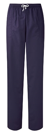 Picture of Unisex Smart Scrub Trousers - 195gsm - Navy