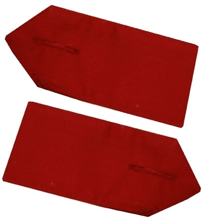 Picture of Epaulettes - Pair - Red